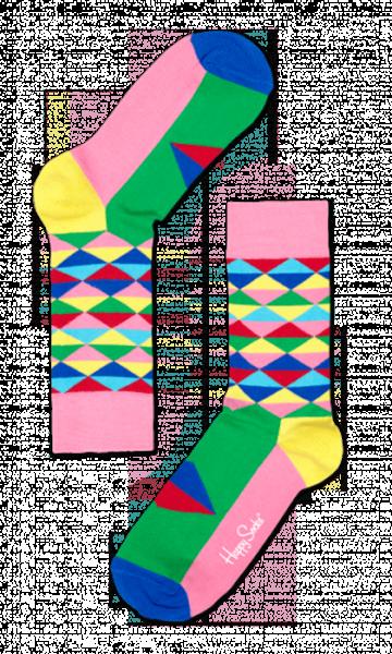 No universo das meias coloridas