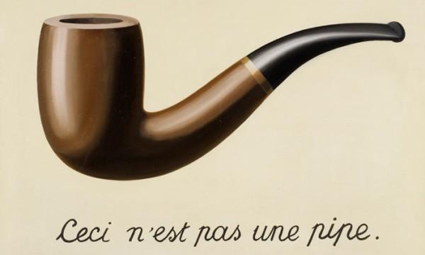 Ceci n'est pas une pipe: a realidade não é o que se vê