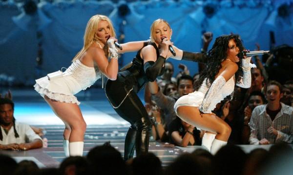 Quando o palco do VMA pegou fogo