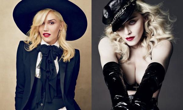 Madonna e Gwen Stefani lançam novos materiais no próximo ano