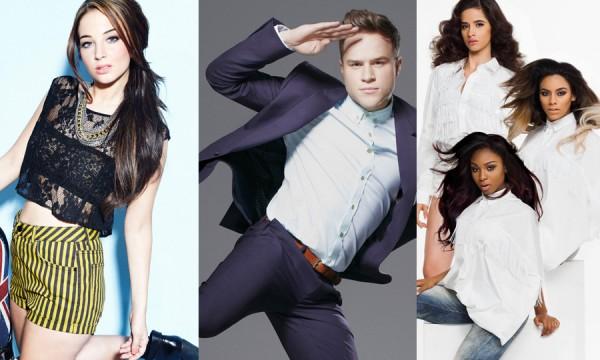 """Overdose de """"The X Factor"""" com lançamentos de Tulisa, Olly Murs e Fifth Harmony"""
