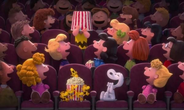 Snoopy vaza trailer de Peanuts