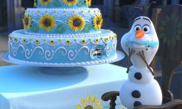 Está tudo pronto para o aniversário da Anna em Frozen: Febre Congelante