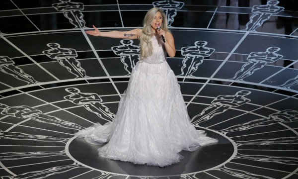 A noite em que Lady Gaga brilhou